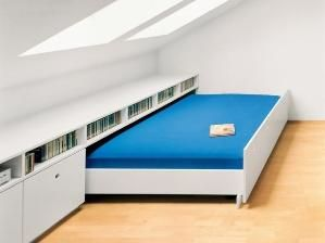 Attic space for guests