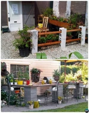 Cinder block fire pit more projects