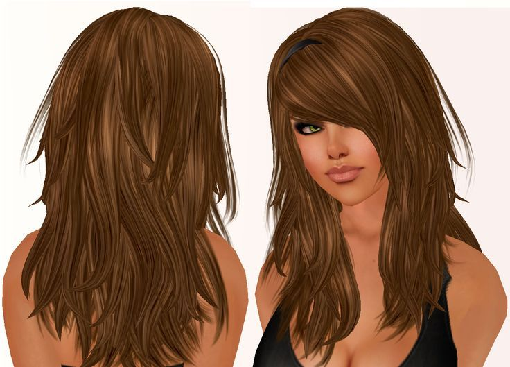Hairstyles for women over choppy layere
