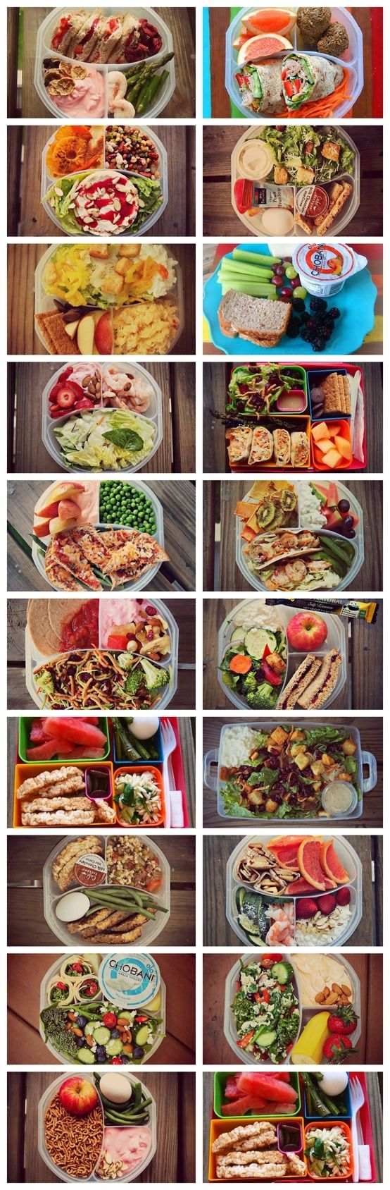 Healthy lunch ideas this blogger posts a pictur