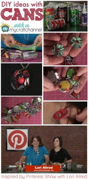 How to make recycled soda pop can bracelet