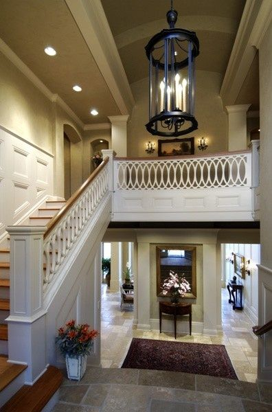 I love the openness of downstairs