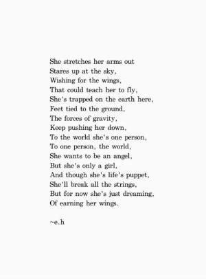 If you cannot be a poet be the poem