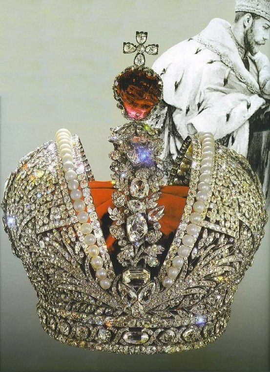 Imperial crown of russia created for th