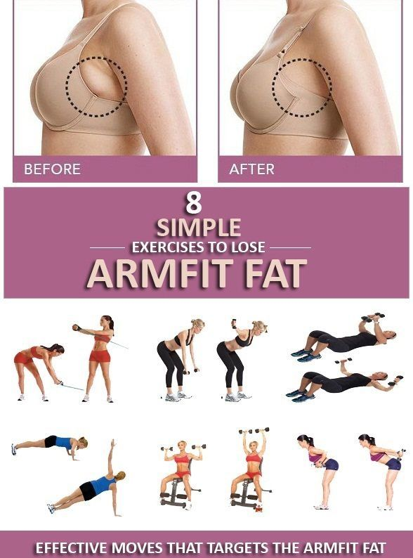 Simple and effective exercises to lose arm fit fat