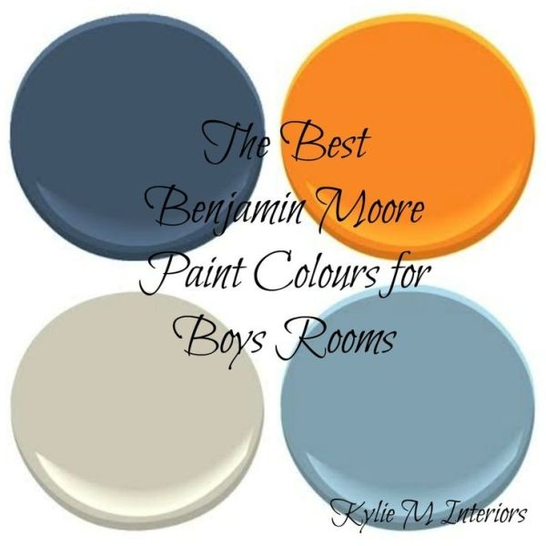 The best benjamin moore paint colours for boy