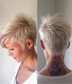Trendy pixie hairstyles for women short hair cuts